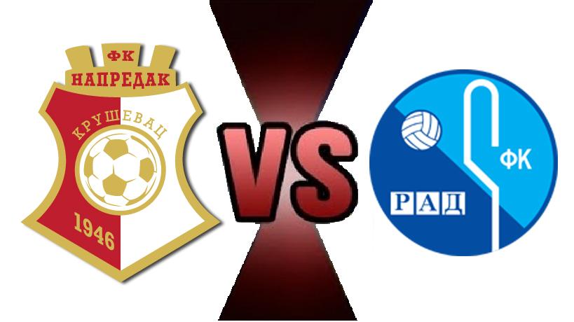 FC Napredak - FC Rad (2:0)