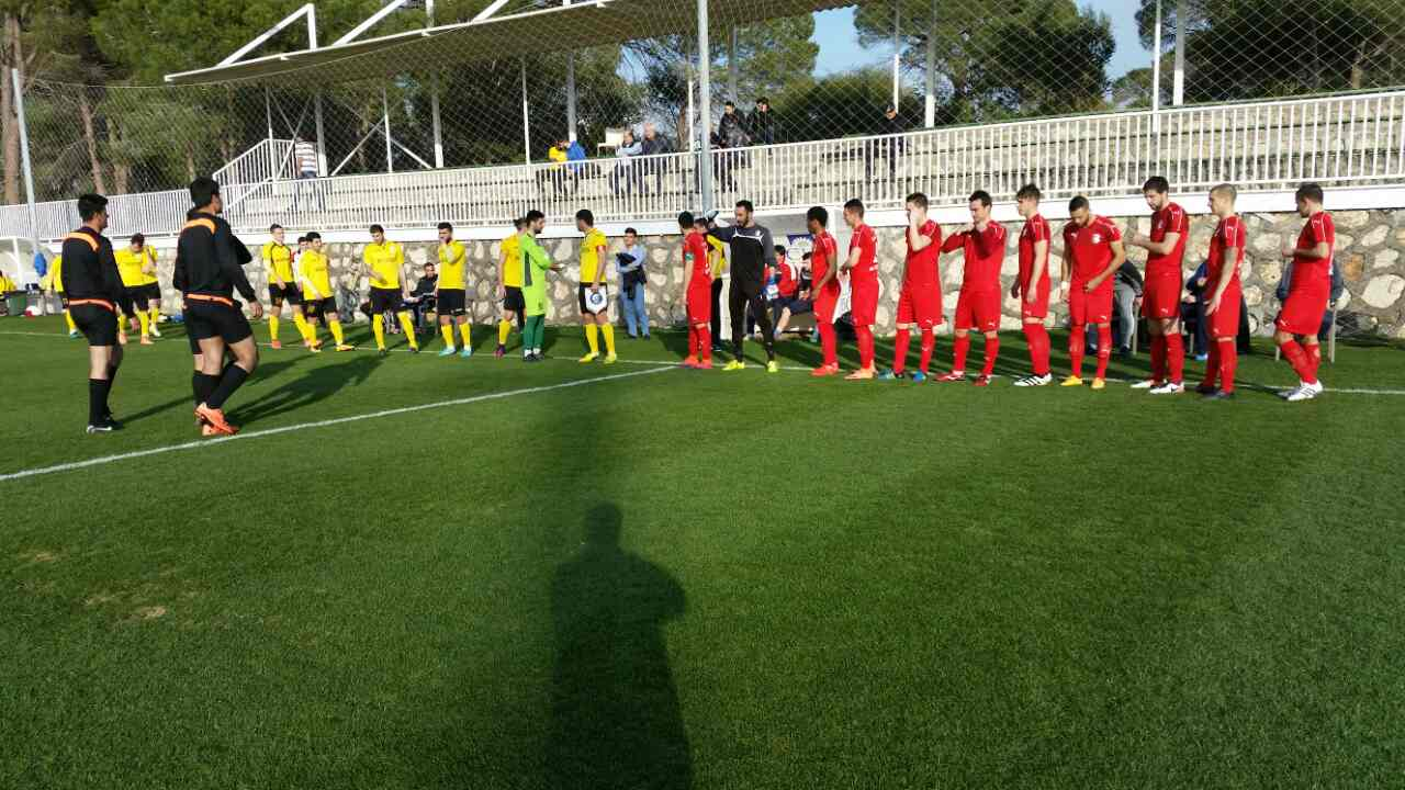 FC Alashkert - FC Napredak 1:1