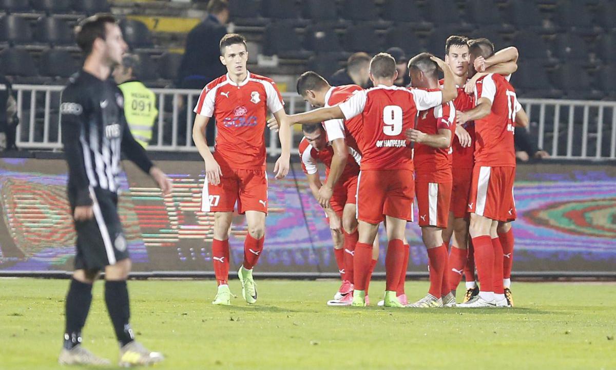 Partizan F.C - Napredak F.C 1:1