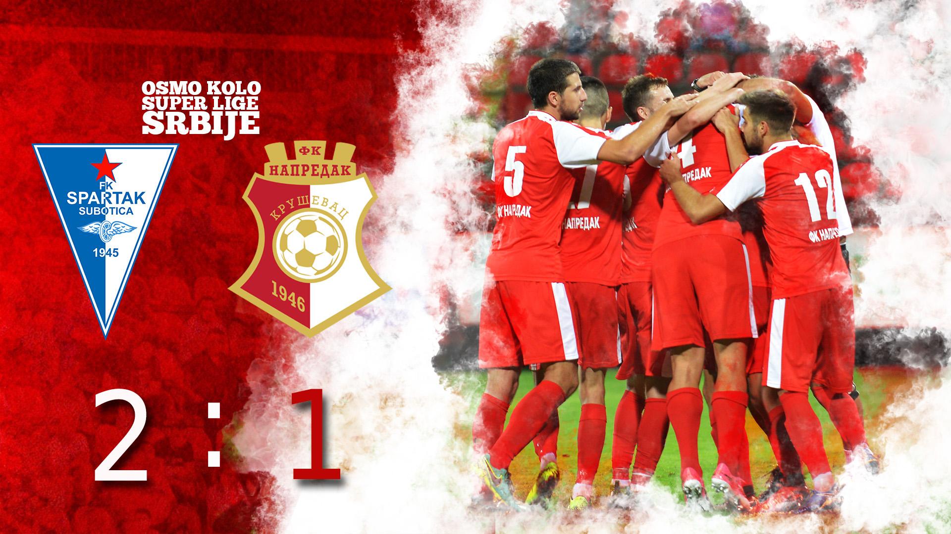 Spartak F.C - Napredak F.C 2:1