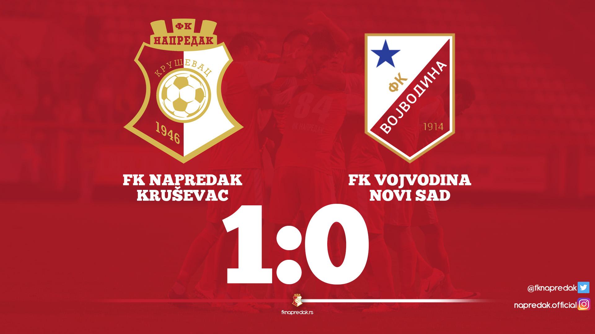Napredak F.C - Vojvodina F.C 1:0