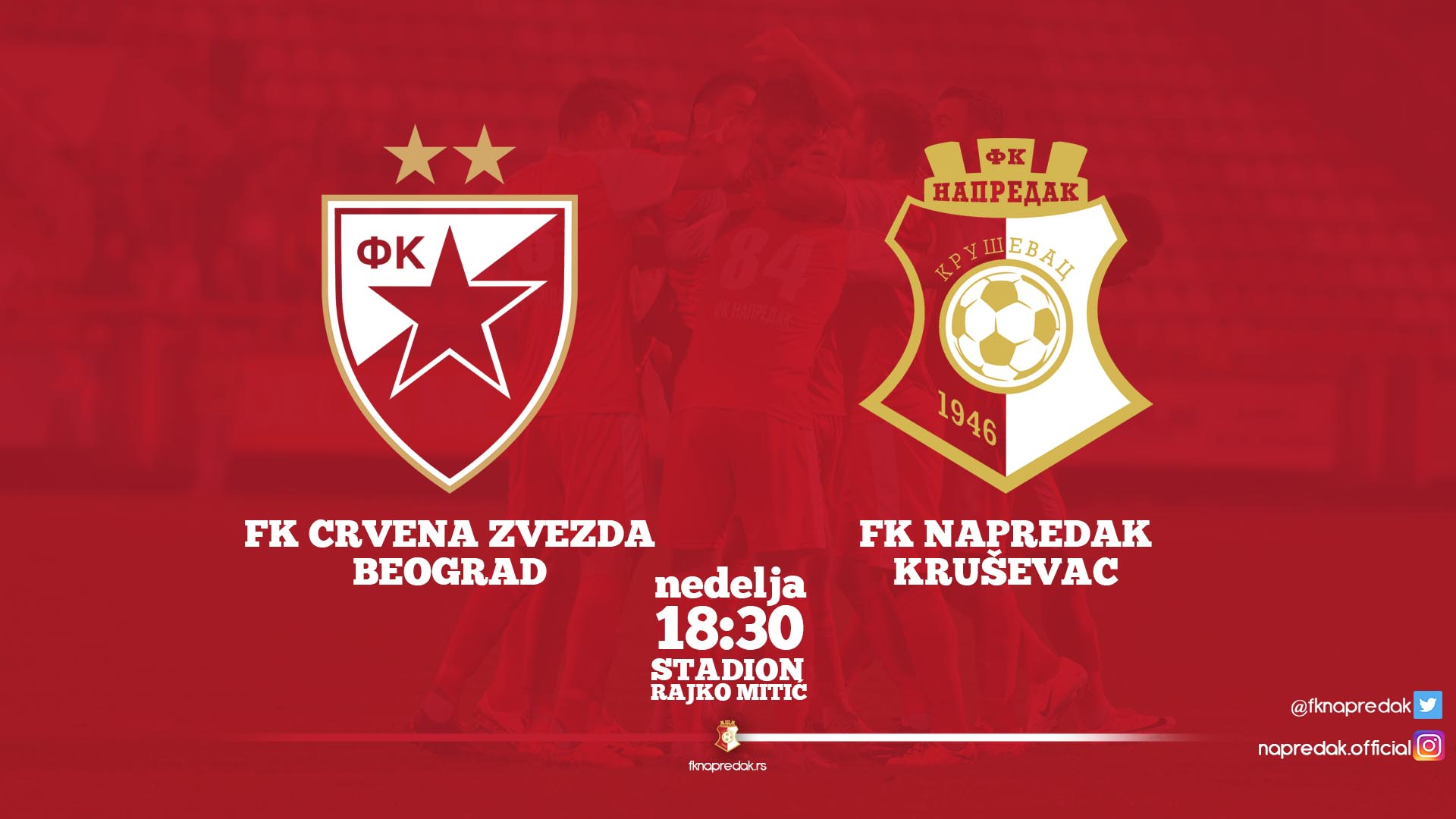 Red Star F.C-Napredak F.C. 3-0