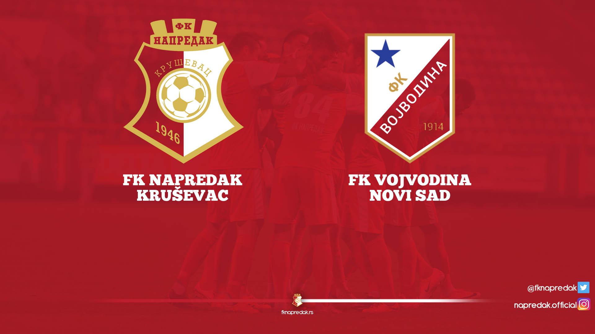 Napredak F.C-Vojvodina F.C 1:0
