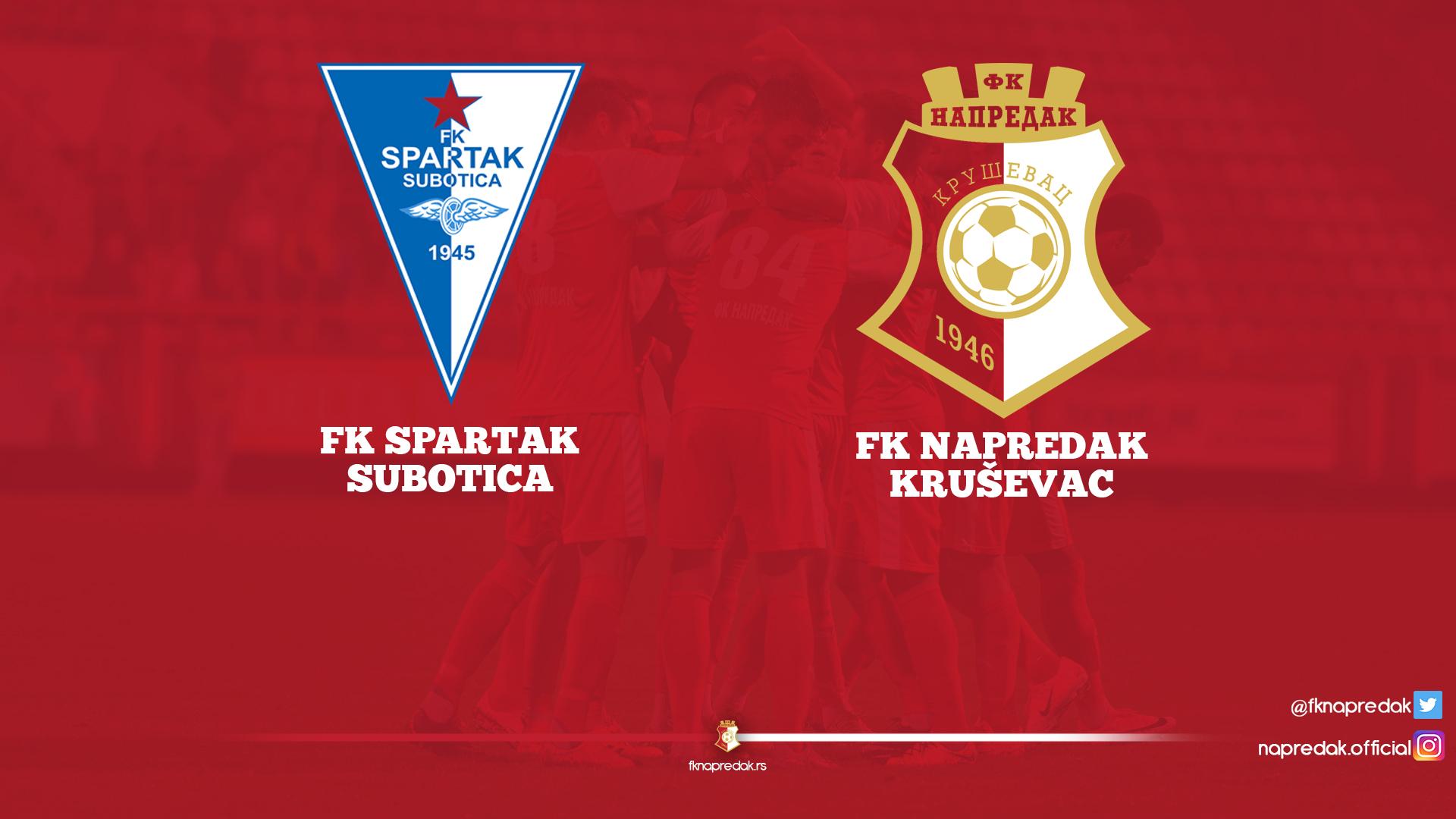 Spartak F.C. -Napredak F.C. 0:1