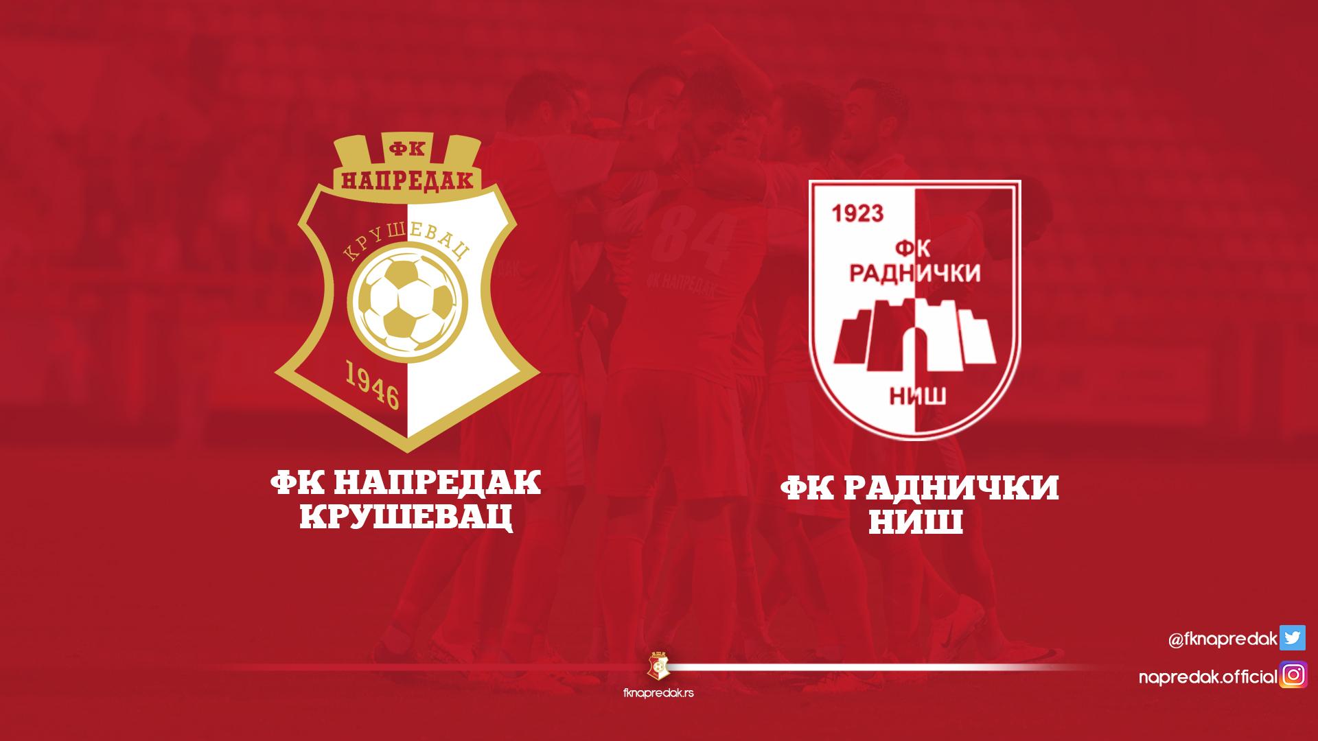 Napredak F.C. - Radnički F.C. 1:2