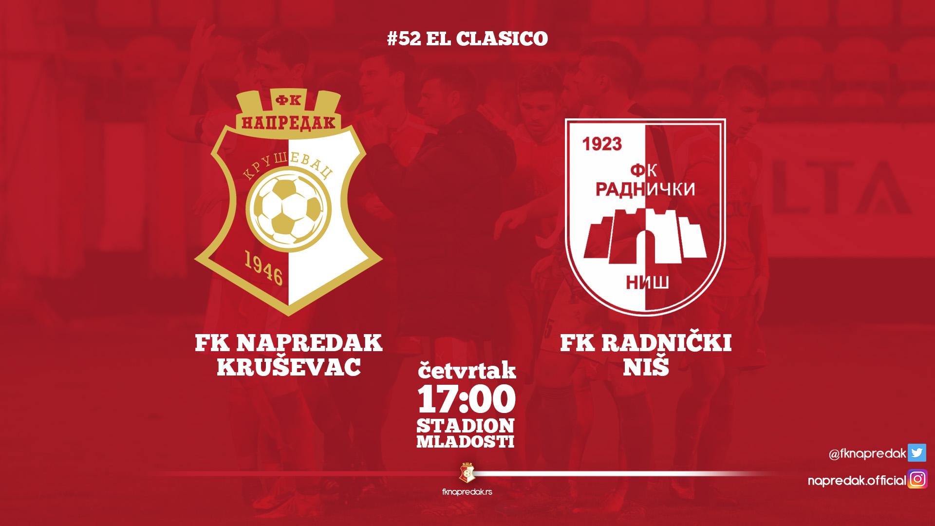 Napredak F.C.-Radnički F.C. - 3:3