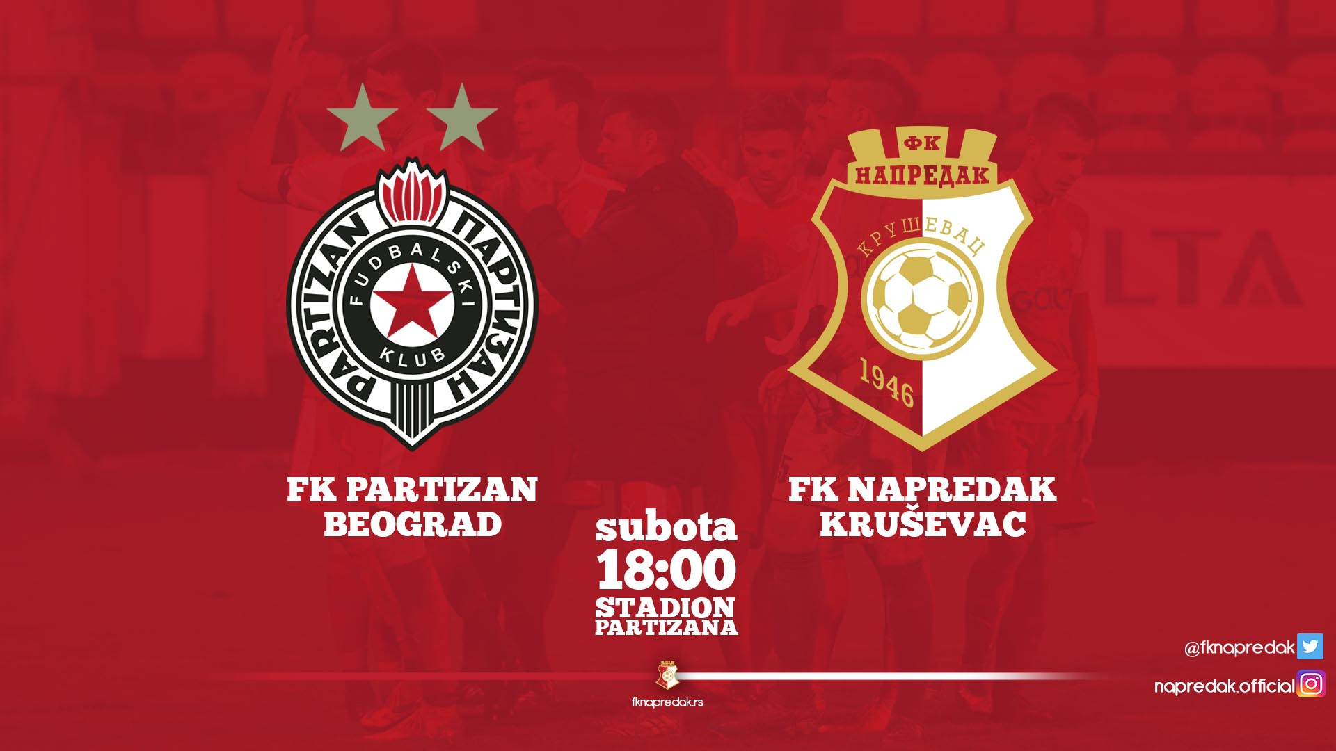 Partizan F.C-Napredak F.C 2:2