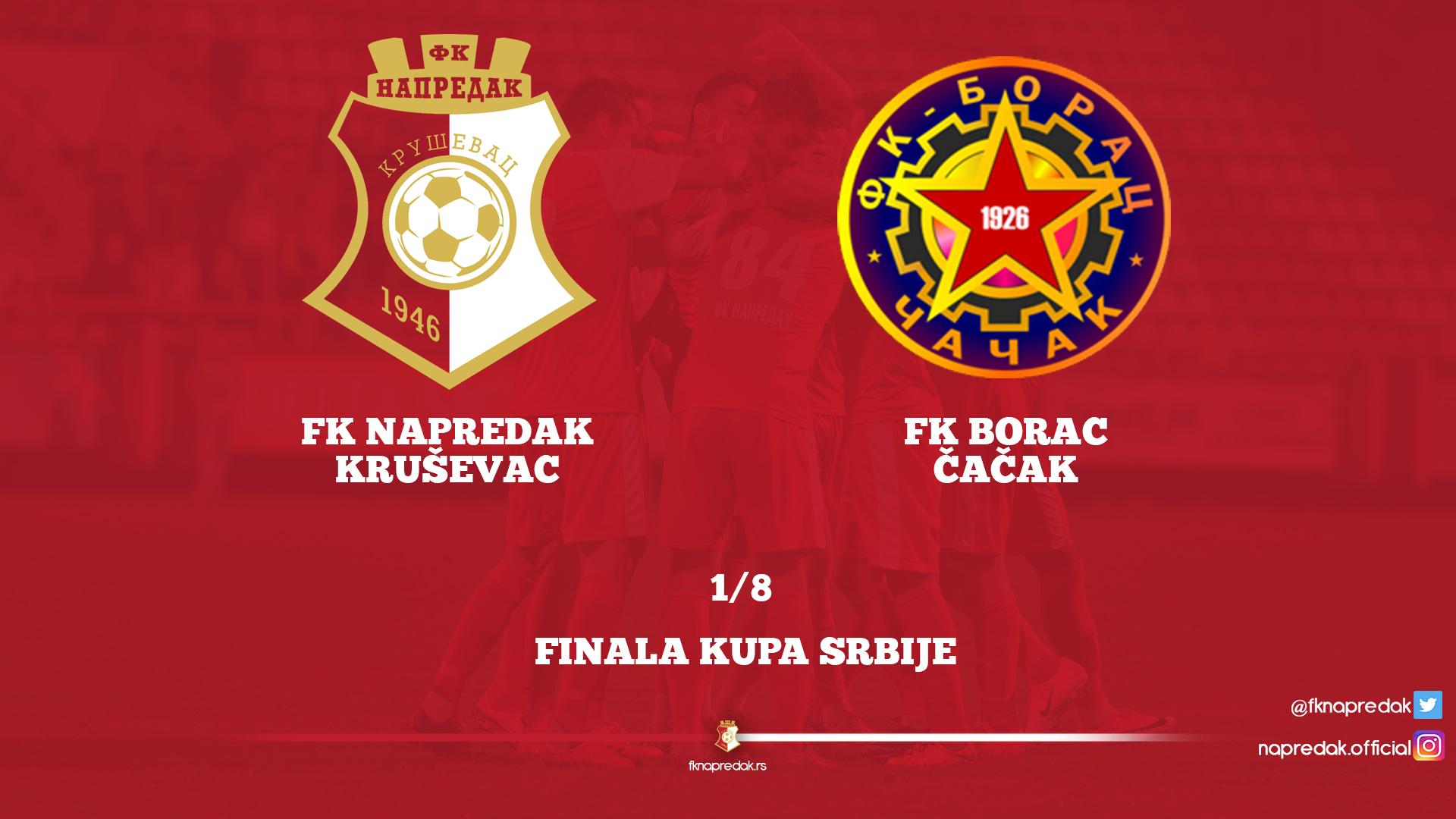 CUP: Borac F.C. - Napredak F.C 0:4