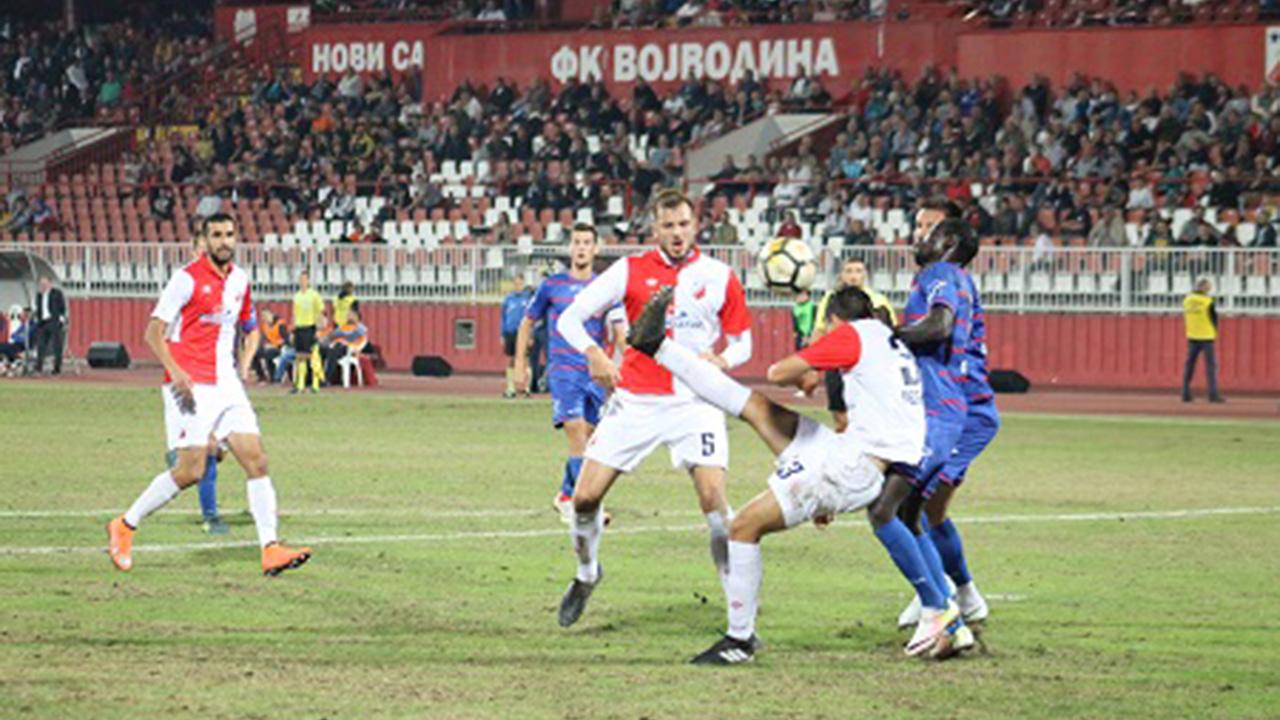 Vojvodina F.C. - Napredak F.C. 0:1