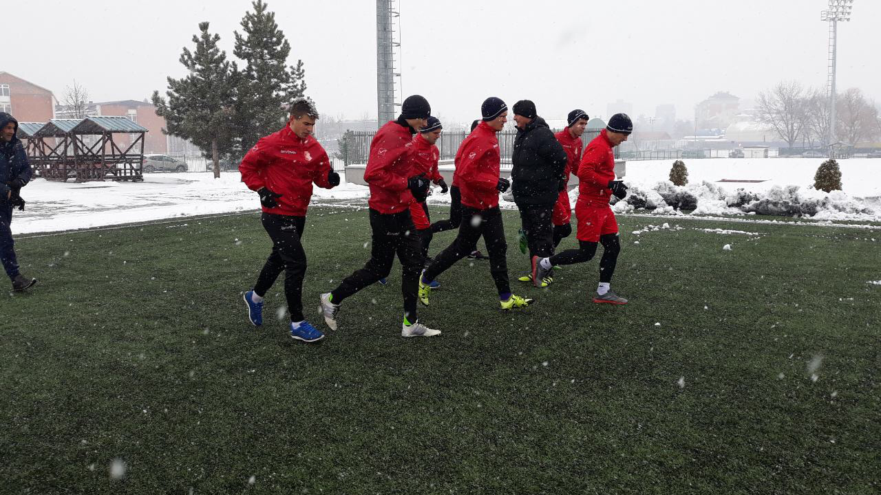 Napredak FC began preparations