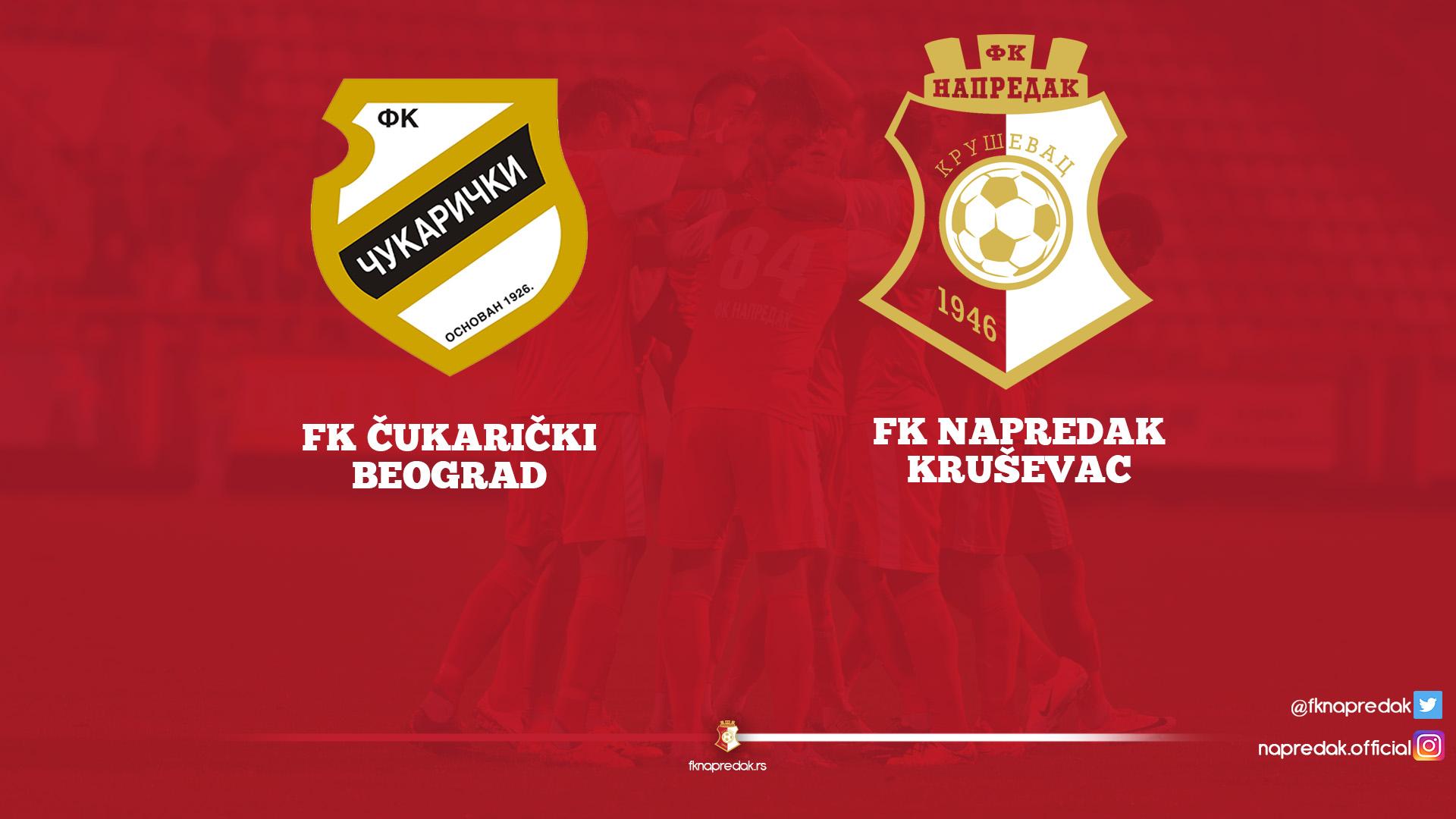 Cukaricki F.C-Napredak F.C. 1-0