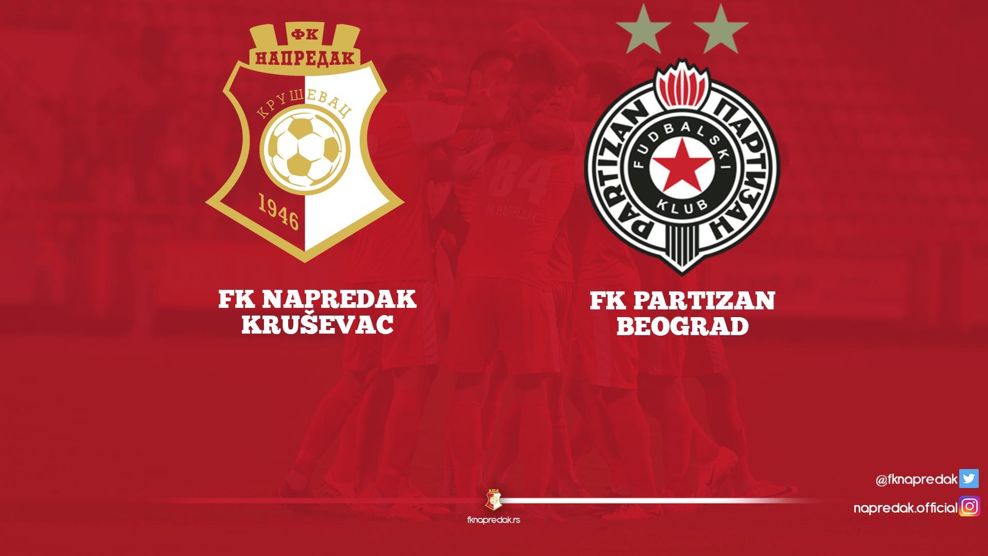 Napredak F.C.-Partizan F.C. 2:2