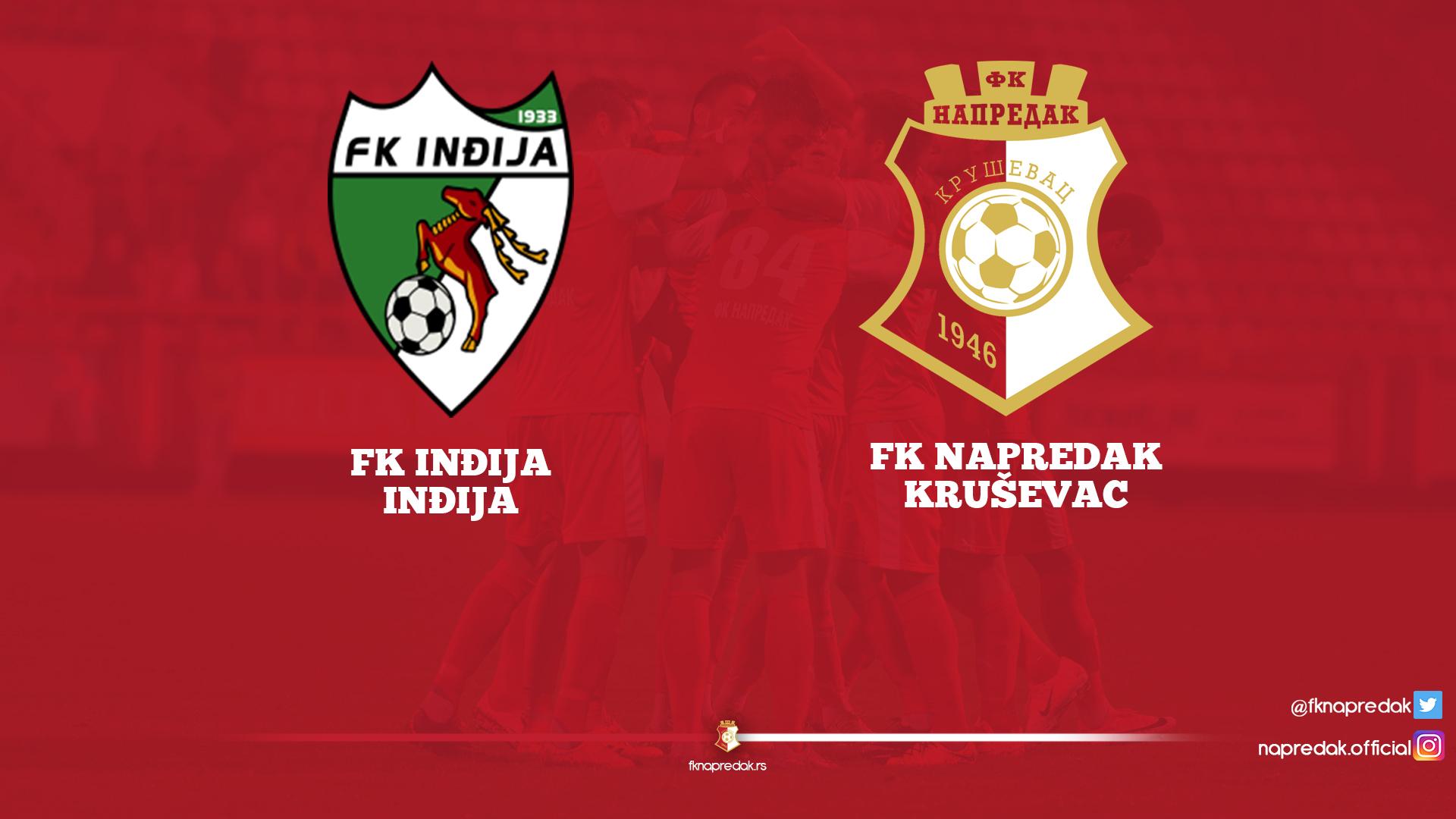Inđija F.C-Napredak F.C. 1-0
